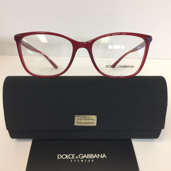 0f7ba5cbd32e Dolce   Gabbana 5026 3091 Red Plastic Eyeglasses